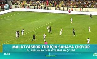 Malatyaspor tur için sahaya çıkıyor