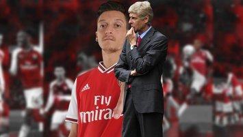 """Arsene Wenger'den Mesut Özil sözleri! """"Çok yazık"""""""