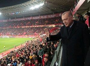 Başkan Recep Tayyip Erdoğan'dan galibiyet yorumu