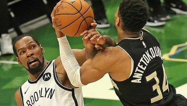 Son dakika spor haberi: Milwaukee Bucks-Brooklyn Nets: 104-89 | MAÇ SONUCU