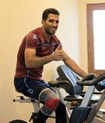 Trabzonsporlu futbolcu Vahid Amiri baba oldu