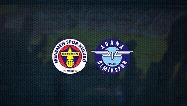 Süper Lig aşkına! Menemenspor - Adana Demirspor maçı ne zaman, saat kaçta ve hangi kanalda canlı yayınlanacak?   TFF 1. Lig
