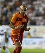Galatasaray'ın ilk golünü kaydetti
