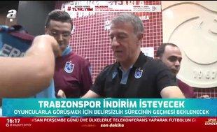 Trabzonspor'da feda vakti