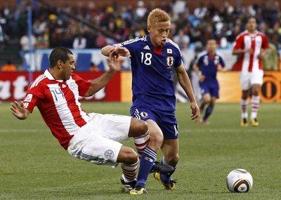 Paraguay - Japonya (İkinci tur maçı)