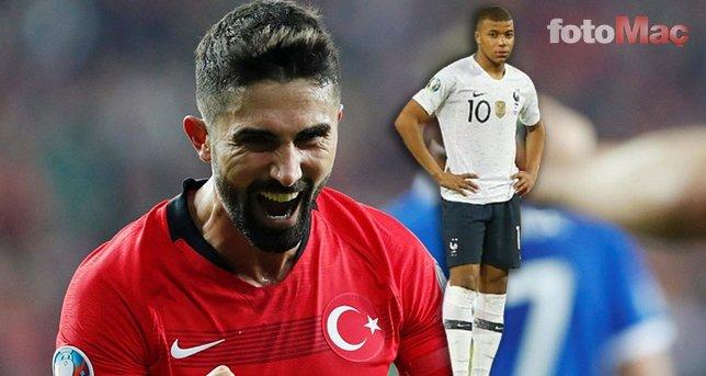 Hasan Ali Kaldırım'ın Fransa maçı performansı sonrası caps'ler patladı! Mbappe...