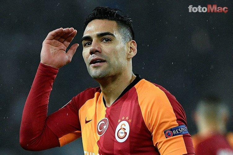 Falcao devreye girdi! Galatasaray transferi bitiriyor