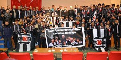 Beşiktaş'tan Muş İdmanyurdu'na malzeme desteği