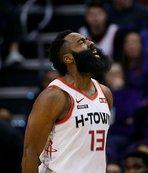 NBA'de Rockets Suns'ı Harden'ın 47 sayısıyla yıktı