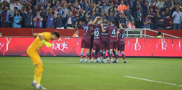 Türkiye'nin gururu Trabzonspor