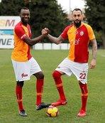 Galatasaray'ın yeni transferlerinden Başkan Cengiz'e ziyaret