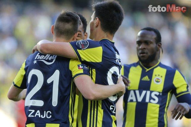 Fenerbahçe - Antalyaspor maçından kareler