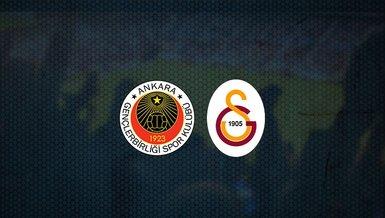 Gençlerbirliği - Galatasaray maçı ne zaman, saat kaçta ve hangi kanalda canlı yayınlanacak? | Süper Lig