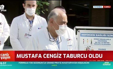 Galatasaray Başkanı Mustafa Cengiz taburcu oldu