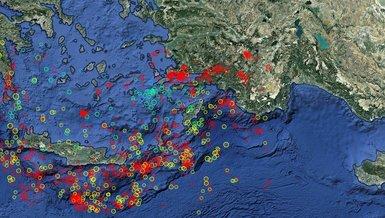 İzmir'de deprem mi oldu? İşte son depremler...