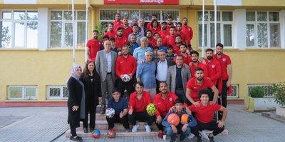 Elaziz Belediyespor kimsesiz çocukları mutlu etti