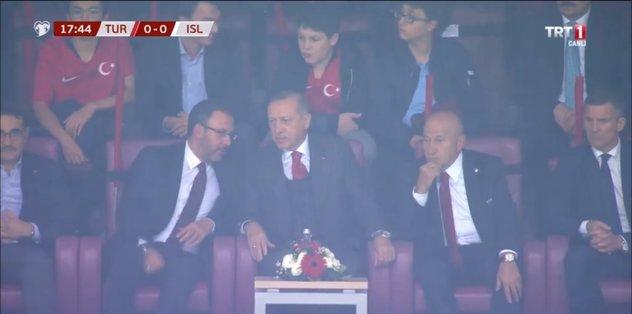 Başkan Recep Tayyip Erdoğan Türk Telekom Stadı'nda
