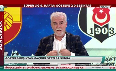 """""""Beşiktaş'ta 5 tane koşmayan oyuncu vardı"""""""