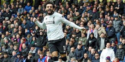 Salah Liverpool'u sırtlamaya devam ediyor