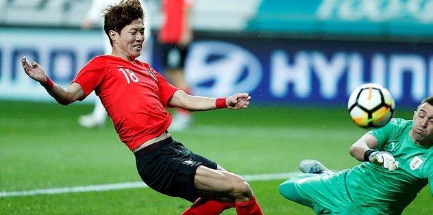 Fernando Muslera'lı Uruguay, Güney Kore'ye mağlup oldu