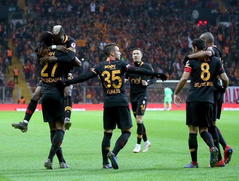Galatasaray - Hatayspor maçından kareler