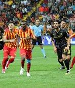 Kayserispor ile Yeni Malatyaspor yenişemedi!