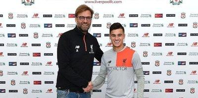 Coutinho 5 yıl daha Liverpool'da