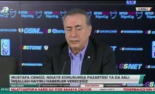 Galatasaray Başkanı Mustafa Cengiz'den Fenerbahçe açıklaması