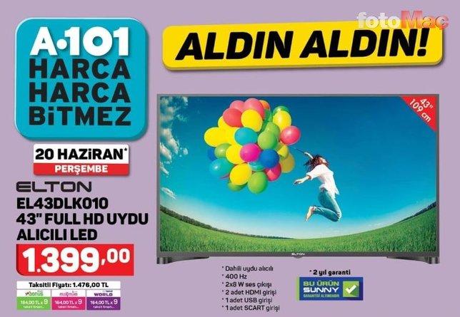 A101 aktüel ürünler kataloğu yayında! 20 Haziran 2019