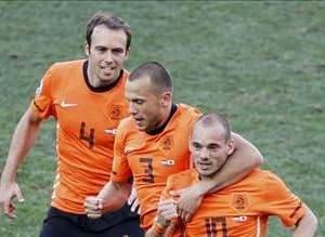 Hollanda - Japonya (E Grubu maçı)