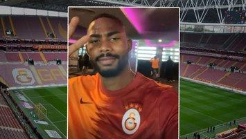 23 yaşındaki Nijeryalı forvet Galatasaray forması giydi!