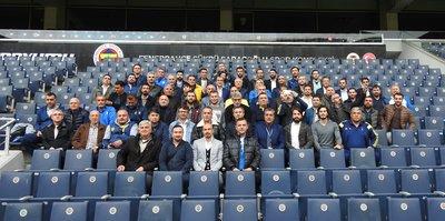 Aziz Yıldırım, futbol okulu yöneticilerini konuk etti