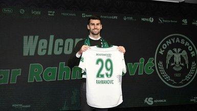 Konyaspor Boşnak Amar Rahmanovic ile sözleşme imzaladı!