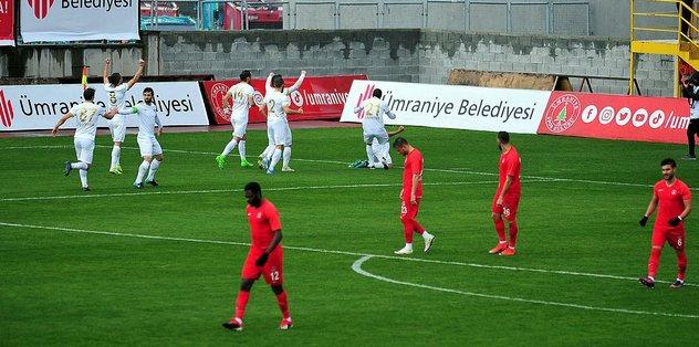 Akhisarspor dış sahada kazanamıyor