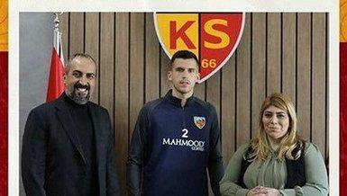 Kayserispor Paz ve Sabovic'i açıkladı