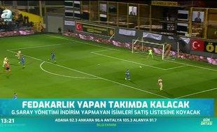 Galatasaray'da fedakarlık yapan takımda kalacak