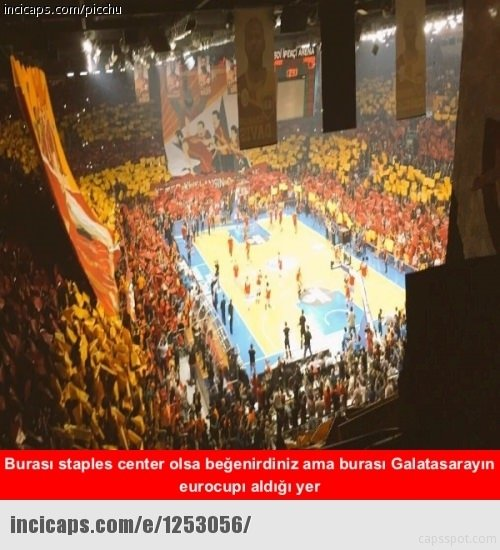 Galatasaray EuroCup'ı aldı capsler patladı!