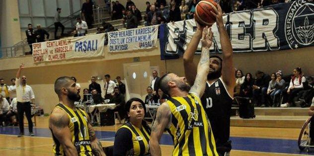 Tekerlekli Sandalye Basketbol Süper Ligi'nde derbi heyecanı!