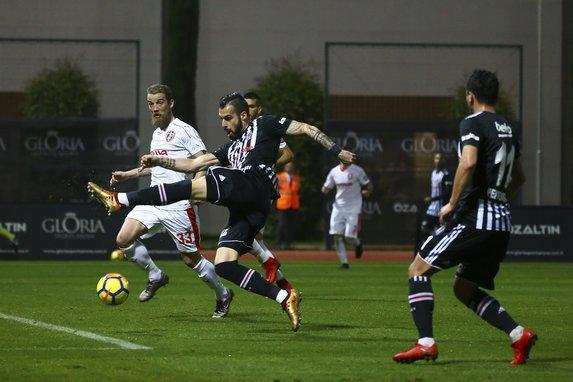 Gol düellosunun galibi Beşiktaş