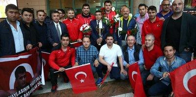 Avrupa Şampiyonu Rıza Kayaalp başkentte
