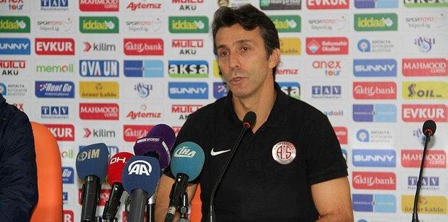 """Bülent Korkmaz: """"Hakkettiğimiz bir galibiyet aldık"""""""