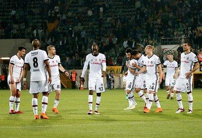 Beşiktaş maçı sonuna bu görüntü damga vurdu