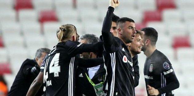 Maç sonucu: Sivasspor 1-2 Beşiktaş | ÖZET