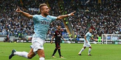 Lazio'dan Milan'a ağır darbe