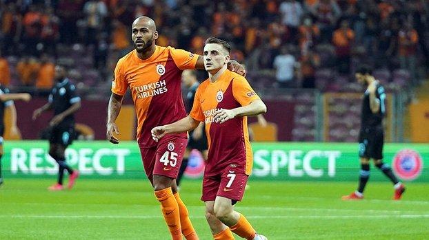 Galatasaray'da Kerem Aktürkoğlu ve Marcao'dan dostluk mesajı! İşte o anlar
