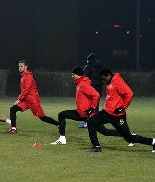 Kayserispor'da kupa maçı hazırlıkları