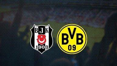 Beşiktaş - Borussia Dortmund maçı ne zaman? Beşiktaş maçı saat kaçta? Beşiktaş - Dortmund maçı hangi kanalda canlı yayınlanacak? | BJK - BVB CANLI SKOR