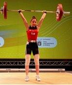Büyükşehir'in haltercisi Avrupa 3.sü oldu