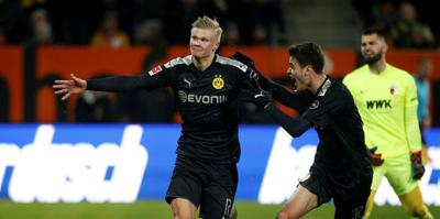 MAÇ SONUCU Augsburg 3-5 Borussia Dortmund
