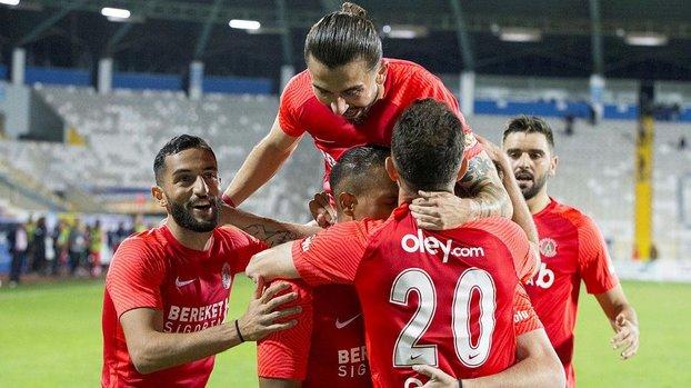 BB Erzurumspor: 0 - 2 Ümraniyespor (MAÇ SONUCU - ÖZET)